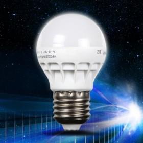 5只装3瓦 LED节能led灯泡 E27通用螺口