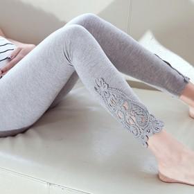 孕妇打底裤春夏孕妇裤春秋薄款托腹裤子九分长裤外穿