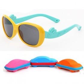 儿童偏光太阳镜 时尚可爱 防紫外墨镜