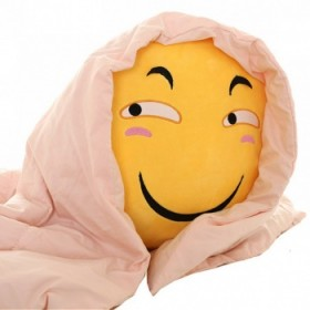 【包邮】 滑稽抱枕斜眼害怕脸表情包毛绒玩具公仔原创