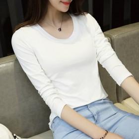 2017新品韩版新款女装长袖t恤包邮原创品牌热卖