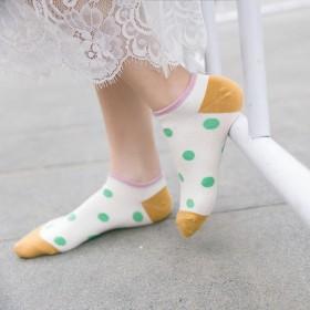 5双装夏季低帮浅口运动船袜短袜