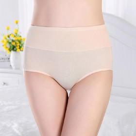5条装内裤女棉质面料 女士高腰内裤
