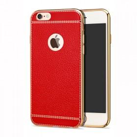 苹果6手机壳6splus手机套皮纹全包软壳