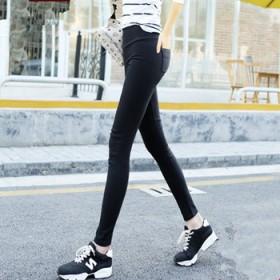 春夏款外穿打底裤薄款高腰显瘦九分小脚裤铅笔裤