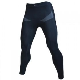 黑色运动收身速干排汗跑步篮球功能保暖内衣打底长裤子