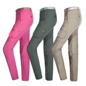 两截可拆卸夏季速干裤透气超薄登山裤
