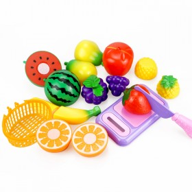 11件套 儿童过家家水果切切乐早教玩具套装