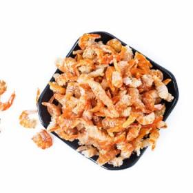 新鲜野生虾米金钩海米特级虾干节节红无盐红尾干虾即食
