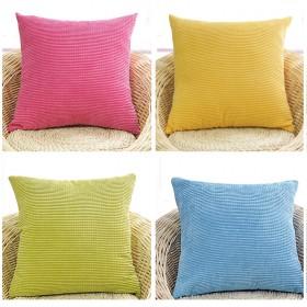 灯芯绒沙发抱枕靠垫含芯客厅座椅靠背