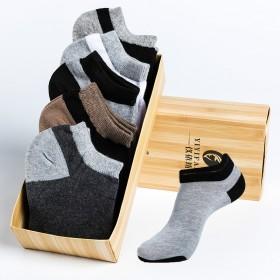 5双男士时尚新颖短袜 多款可选