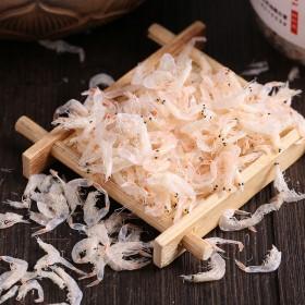 海特宝 特级无盐淡干宝宝补钙即食虾皮虾米海米虾仁海