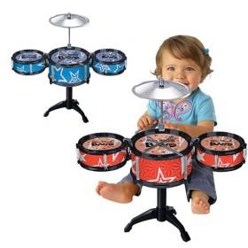 儿童乐器玩具架子鼓爵士鼓益智音乐早教套装鼓男女孩生