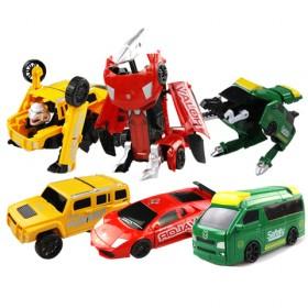 儿童变形金刚4男孩玩具多变机器人模型 儿童塑料玩具