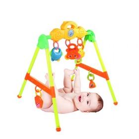婴幼儿宝宝音乐健身架脚踏钢琴玩具新生儿0-3-6-