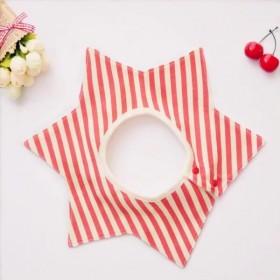 千趣会花型婴儿防水围嘴口水巾三角巾