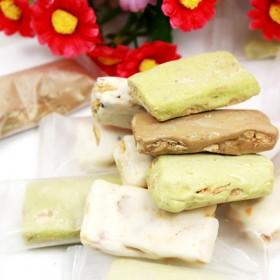 台湾进口牛轧糖500g袋牛扎糖年货软糖果休闲零食品