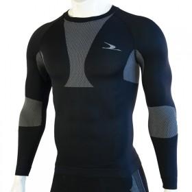 专业运动健身高弹力面料吸汗透气舒适排汗上衣