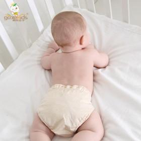 【包邮】 果乐兜 彩棉夏季薄款婴儿尿布兜 宝宝尿布
