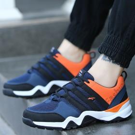 男鞋网鞋防滑耐磨运动鞋春季潮鞋超轻便透气跑步鞋