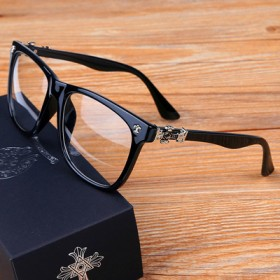薛之谦克罗心眼镜 平光镜
