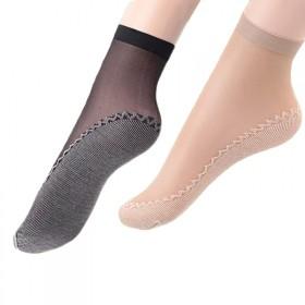 10双盒装棉底丝袜加棉防滑短丝袜