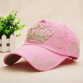 帽子女春夏遮阳棒球帽女粉色鸭舌帽