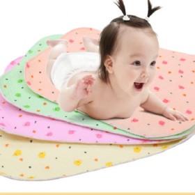 10片纯棉防水防漏可透气小号宝宝尿片婴儿尿布薄款