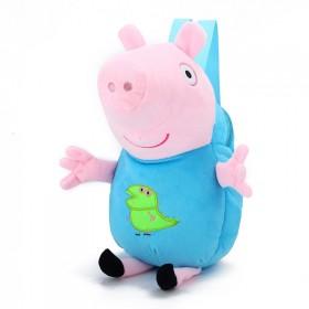 猪小妹卡通幼儿园双肩书包 潮流可爱小猪佩奇儿童毛绒