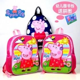 个性幼儿园书包女宝宝3-5-6岁书包儿童双肩包男童