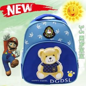 小熊卡通可爱书包,3d立体书包,给孩子不一样的书包