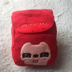 儿童宝宝双肩背包幼儿园小书包可爱卡通毛绒棉包舒适轻