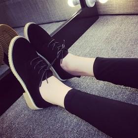 品牌承诺新款韩版低帮鞋系带时尚女士休闲鞋女鞋