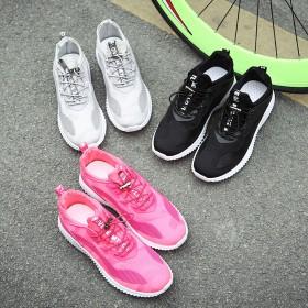 情侣网鞋学生男女跑步鞋透气休闲鞋男系带运动鞋韩版