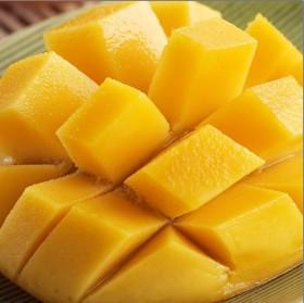 【限地区】新鲜水果芒果5斤 海南大青芒2斤左右1个