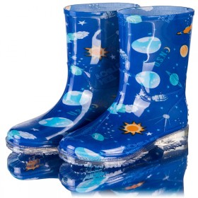 儿童雨鞋 学生雨靴 水晶鞋 中筒防水胶鞋防滑水鞋