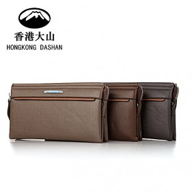 新品休闲商务男包手拿包真皮潮流大容量牛皮男士手包软