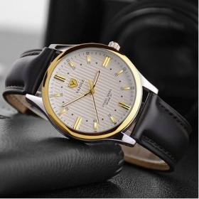 新款时尚绅士高档手表爆款韩版男士休闲手表防水夜光男