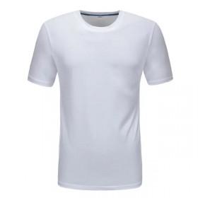 纯棉短袖t桖圆领工作服