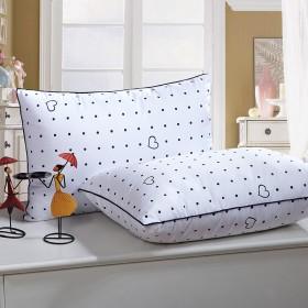 买一送一 全棉枕头成人睡眠枕芯舒适柔软
