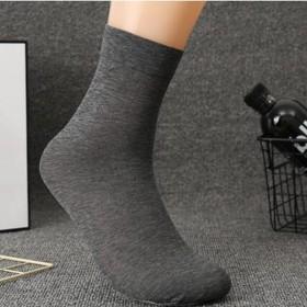 16双礼盒装男士薄款丝袜中筒防臭男袜夏季薄款透气袜