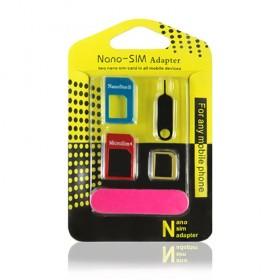 手机卡套sim卡套金属通用电话卡还原器卡托