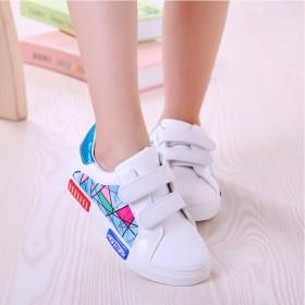 童鞋板鞋女童小白鞋子儿童春秋季2017新款休闲鞋子