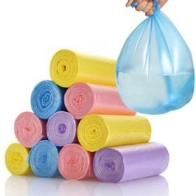 彩色组合【6卷120只】复合包装垃圾袋彩色垃圾袋