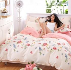 四件套送小毛毯床上用品1.5m1.8米2米床单被罩