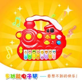 儿童电子琴玩具婴幼儿音乐早教益智玩具多功能音乐电子
