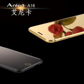 Anica艾尼卡A16创意迷你超薄智能触控卡片手机