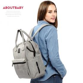 时尚妈咪包大容量内胆妈咪多功能双肩母婴妈妈包出行包