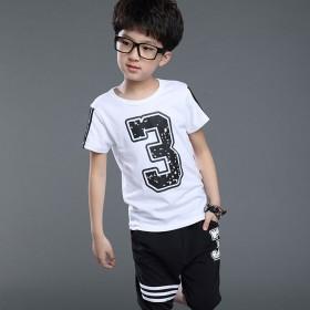 儿童套装短袖t恤两件套