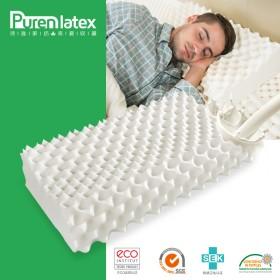 泰国天然乳胶枕成人送枕套舒适全棉可拆卸枕头护颈保健